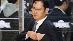 Samsung-Chef wegen Korruptionsaffäre verhaftet