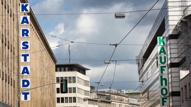 Gespräche zwischen Kaufhof und Karstadt