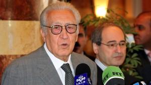 Waffenruhe für Syrien in Aussicht