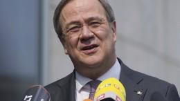 Armin Laschet äußert sich zur K-Frage in der Union