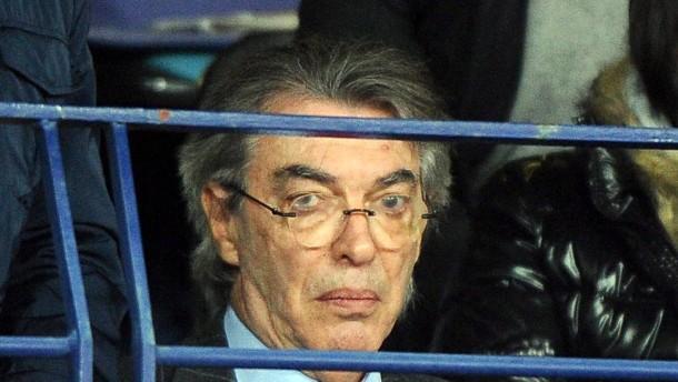 Trainerschreck Moratti schlägt wieder zu