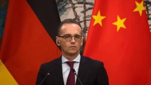 Außenminister Maas will engere Zusammenarbeit mit China