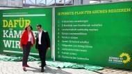 Grünen stellen 10-Punkte-Plan für Wahlkampf vor