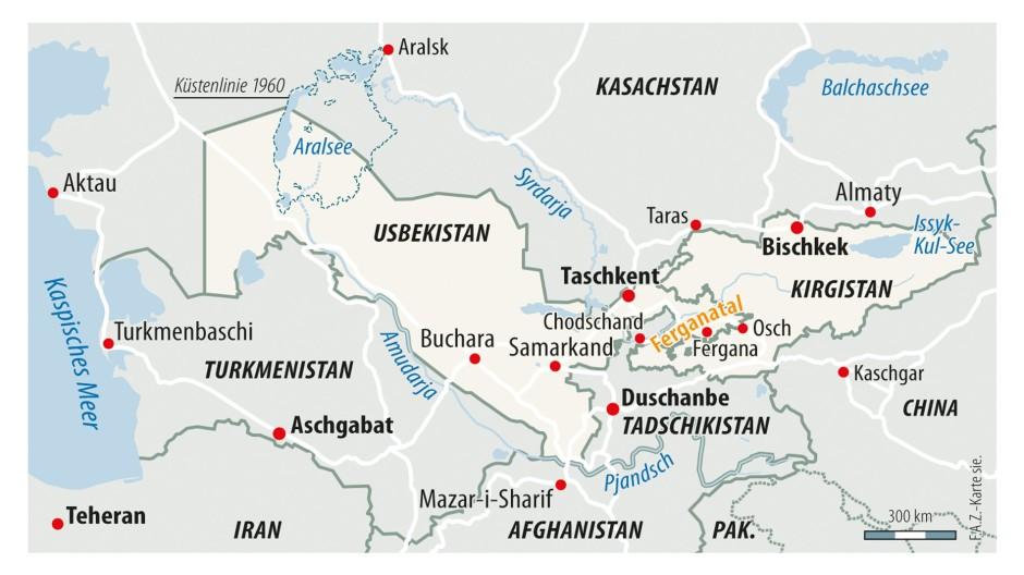 Usbekistan Karte.Bilderstrecke Zu Usbekistans Präsident Mirsijojew Greift Durch