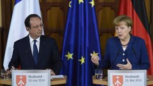 Merkel und Hollande drohen Russland mit Wirtschaftssanktionen