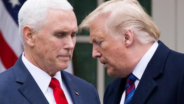 Pence will Trump weiter unterstützen