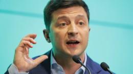 Selenskyj spricht über politische Ziele