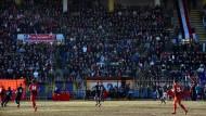 Das erste Fußballspiel in Aleppo seit fünf Jahren