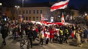 Mehr als 200 Festnahmen in Belarus