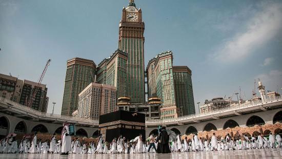Letzte Runden um die Kaaba