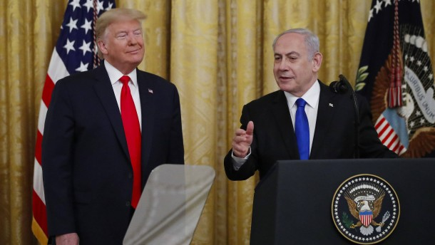 Kernpunkte aus Trumps Nahost-Plan