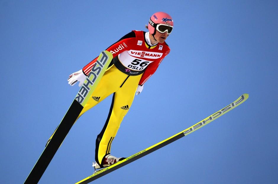 Skispringer Gewicht