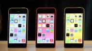 Auch im Alter noch dynamisch: das iPhone 5c