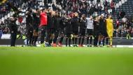 Erfolgswelle: In dieser Saison sah man die Eintracht-Spieler häufig jubeln.