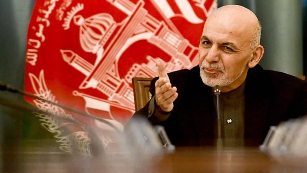 Amtsinhaber Ghani gewinnt Präsidentenwahl
