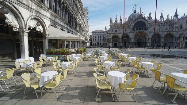 Wenn man Venedig für sich allein hat