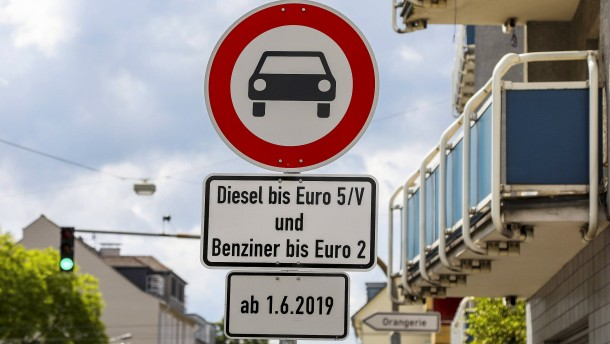 Fahrverbote in Darmstadt bleiben 2020 bestehen