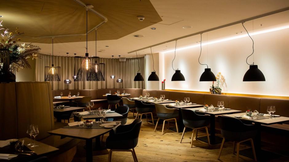 """Blick in das Restaurant """"Setzkasten"""" in Düsseldorf."""