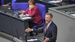 Lindner droht mit Klage in Karlsruhe