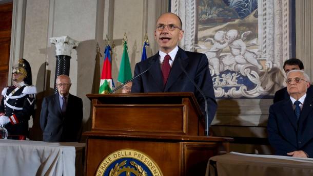 Neue Regierung in Italien vereidigt