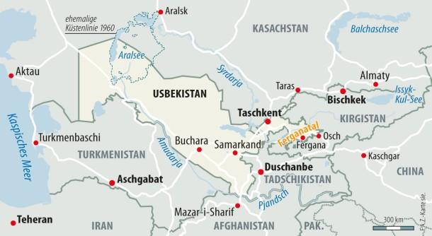 Usbekistan Karte.Bilderstrecke Zu Warum Usbekistan Schwer An Seinem Politischen Erbe