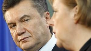 Ukraine droht Deutschland mit wirtschaftlicher Eiszeit