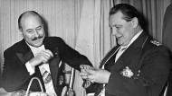Vor dem Krieg: Botschafter François-Poncet im Februar 1936 mit Hermann Göring in Berlin