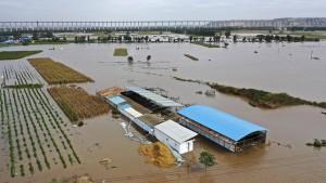 Mindestens 15 Tote bei Überschwemmungen in Nordchina