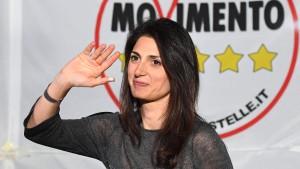 Kandidatin der Beppe-Grillo-Partei liegt vorne