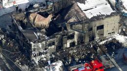 Brand fordert elf Menschenleben