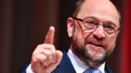 Schulz nennt AfD Schande für Deutschland