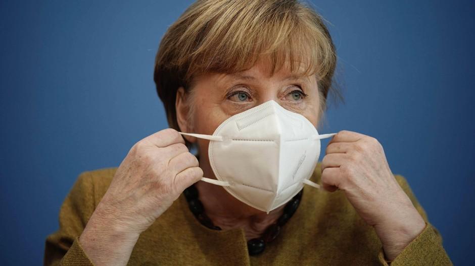 Kampf gegen die Mutationen: Angela Merkel sucht nach europäischen Lösungen.