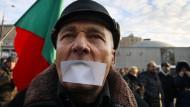 Demonstration für Rede- und Meinungsfreiheit in Moskau