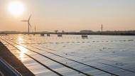 Die EIB will den Ausbau erneuerbarer Energien fördern.
