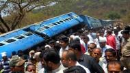 Zahlreiche Tote nach Zugunglück