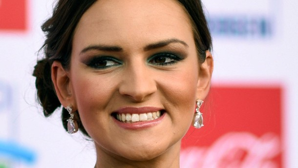 Miss Germany trifft Papst