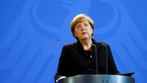 Merkel: Wir weinen mit Ihnen