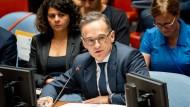 Bundesaußenminister Heiko Maas im UN-Sicherheitsrat