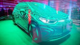 """Volkswagen enthüllt vollelektrischen """"Idee Drei"""""""
