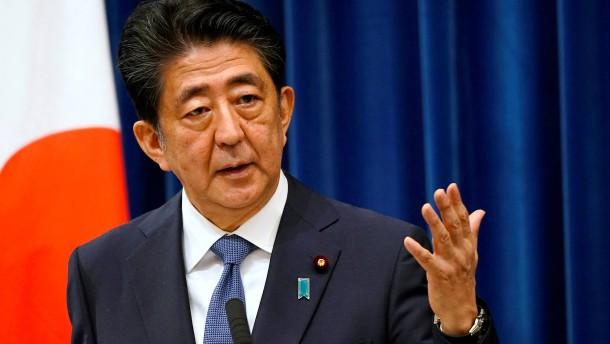 Japans Ministerpräsident erklärt Rücktritt