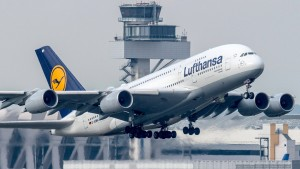A380 der Lufthansa wegen Notfalls in Nowosibirsk zwischengelandet