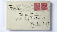 Ein Brief von Kafka mit heiklem Inhalt