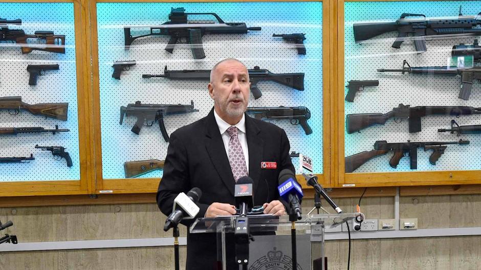 Im Rahmen einer Amnestie wurden der australischen Polizei im Oktober Tausende Waffen übergeben.