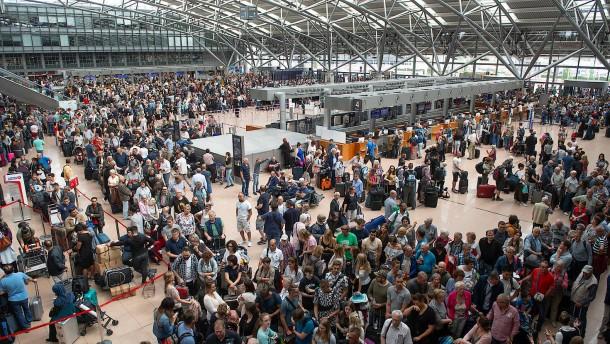 Schadhaftes Kupferkabel löste Flughafen-Kurzschluss aus