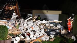 Einfamilienhaus in Spandau komplett eingestürzt