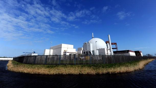 EU sieht Probleme bei norddeutschen Kernkraftwerken