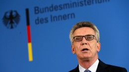 """De Maizière sieht in Ostdeutschland """"Veränderungsmüdigkeit"""""""