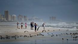 Florida wartet auf den Sturm