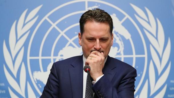 Chef des UN-Palästinenserhilfswerks tritt zurück