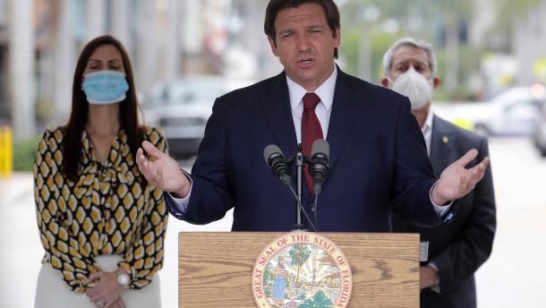 In Florida wird trotz Corona weitergefeiert